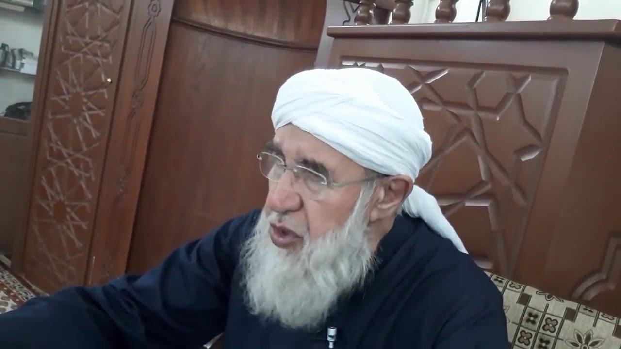 محاضرة موثرة جدا عن ( القبور ) فضيلة العلاّمة الكبير الشيخ فتحي الصافي رحمه الله