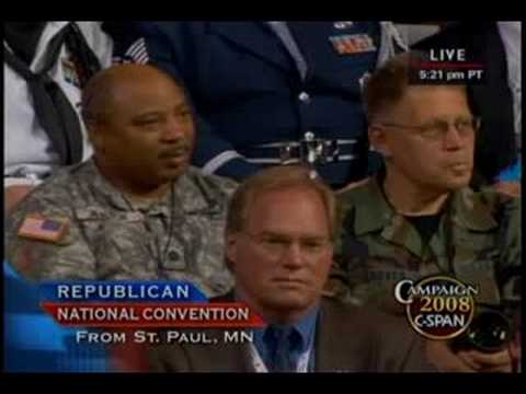 09/04/08 Carol Mutter at Republican National Convention