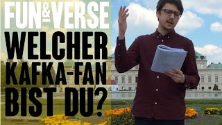 FUN & VERSE #8 – Welcher Kafka-Fan bist du?