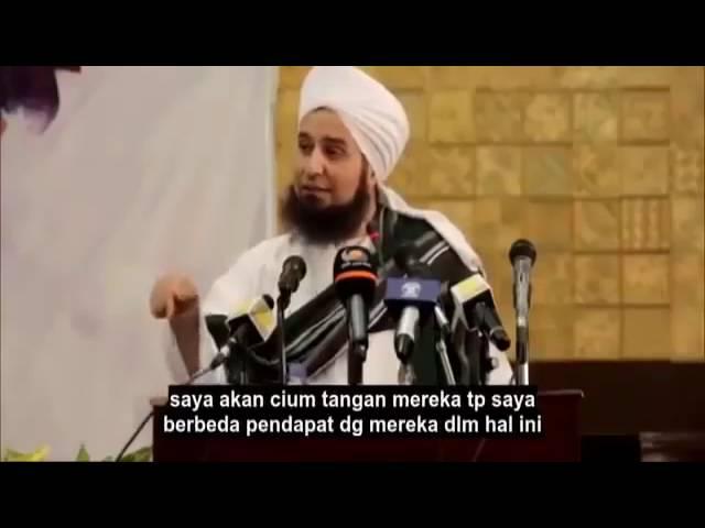 Ceramah Paling Menghebohkan Habib Ali Al Jufri; Saya Cinta Orang Nasrani Bahkan Yahudi!