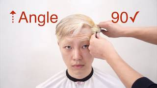 Dby susung 옆머리 뜨는 남자 머리 싱글링 커트…