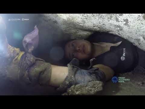 Balamkú: suantuario subterráneo en Chichén Itzá