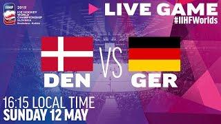 Denmark vs. Germany | Full Game | 2019 IIHF Ice Hockey World Championship