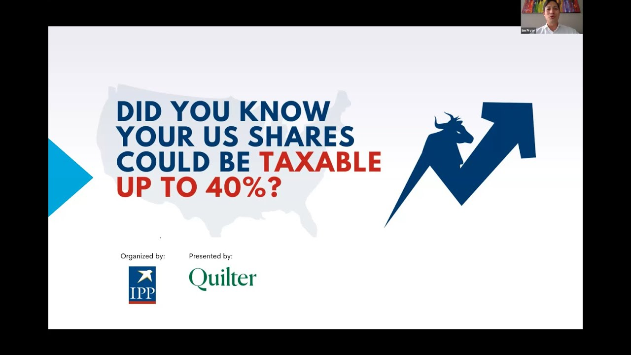 How does US Estate Tax affect your US shares? | Webinar