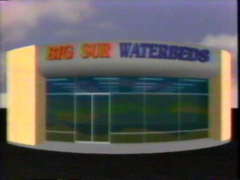 BIG SUR WATERBEDS COMMERCIAL - 1992
