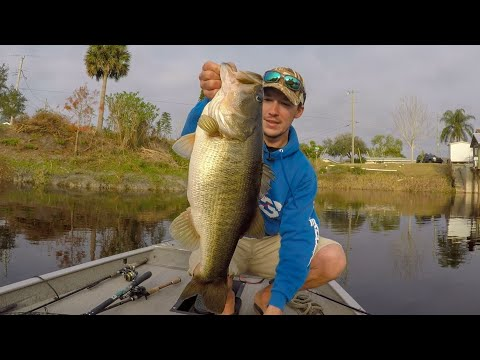 Catching Huge Bass On The St. Johns River! 🎣Lake Poinsett🎣