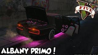 GTA V - Tunando o Albany PRIMO SOM Insano! DLC LowRiders