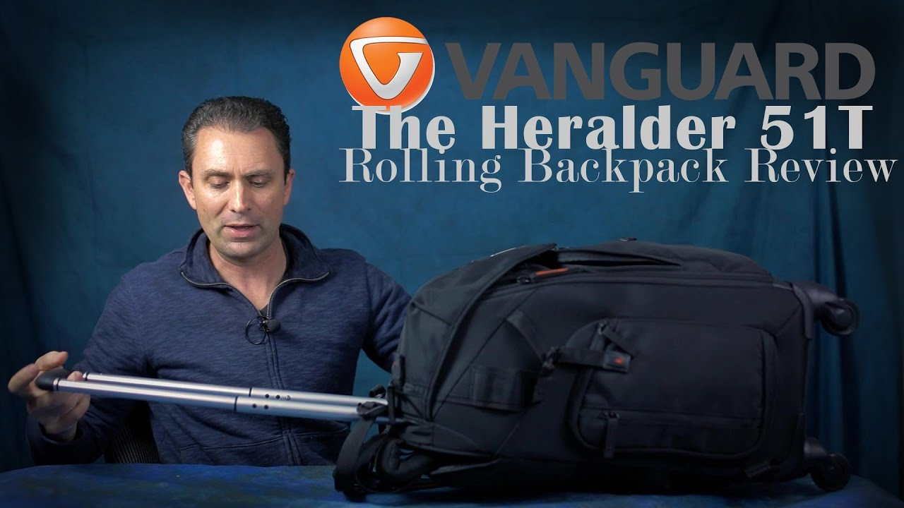 Vanguard The Heralder 51T Rolling Backpack Review - YouTube