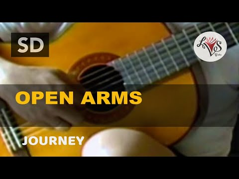 Open Arms - Journey (solo guitar cover) - YouTube