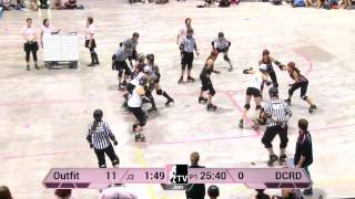 WFTDA Roller Derby: 2014 Division 2 Playoffs, Kitchener: Chicago Outfit vs. Demolition City