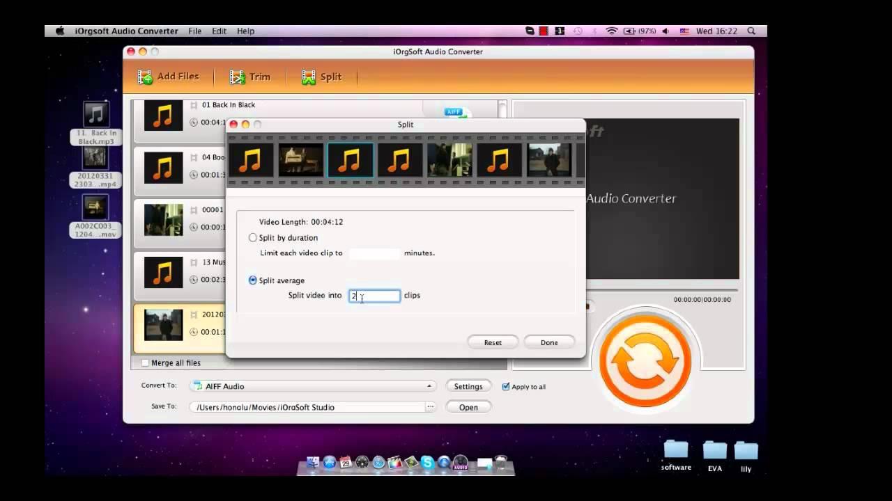 how to play wav files on mac
