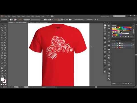 Vector Tshirt Mockup Tutorial