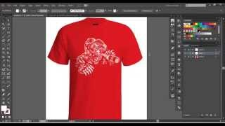 Vector Tshirt Mockup Tutorial
