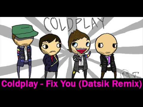 Coldplay Fix You Datsik Remix Slowed and Wrecked By DJ WreckAlot