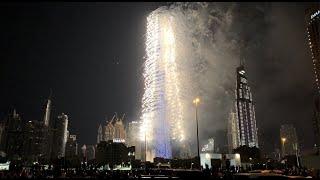 Dubai Burj Khalifa New year& 39 s eve fireworks 2020 in 4K happy new year