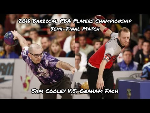 2016 Barbosal PBA Players Championship Semi-Final Match - Sam Cooley V.S. Graham Fach