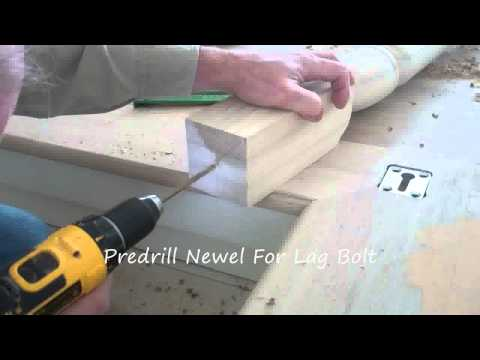 How To Secure A Newel Post