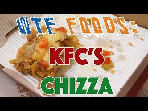 KFC China's Latest STONER Food - The Chizza
