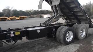 2004 Peterbilt 379 Flat Bed Dump Truck