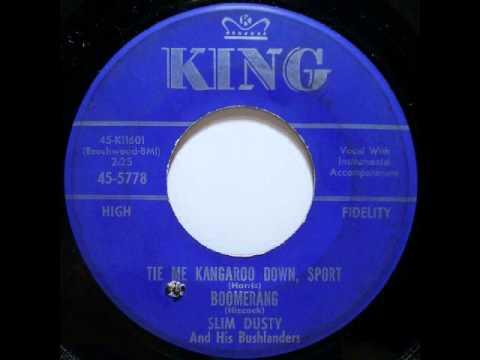 Slim Dusty & His Bushlanders - Tie Me Kangaroo Down, Sport / Boomerang (1963)