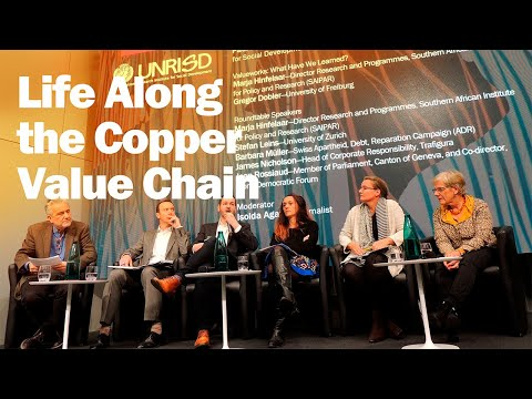 UNRISD: Events | Life Along the Copper Value Chain: The Swiss