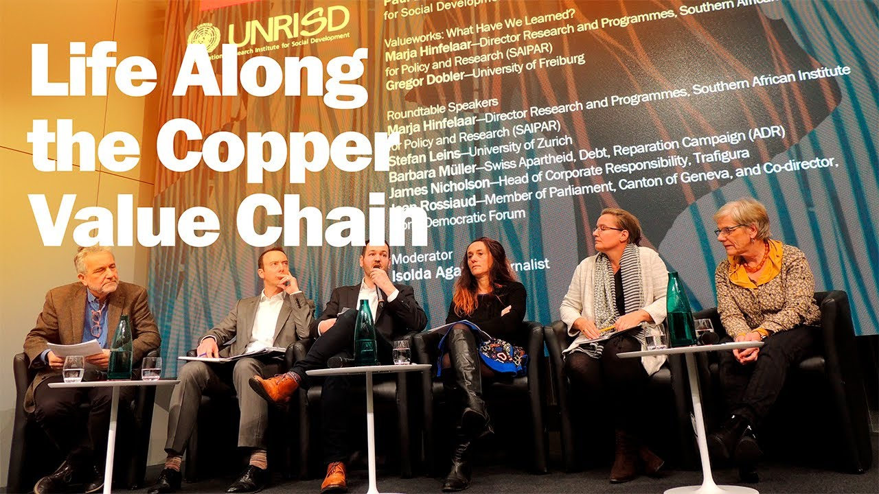 UNRISD: Events | Life Along the Copper Value Chain: The