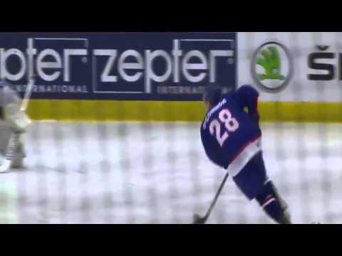 Great Britain ice hockey international Ben O'Connor score unbelievable penalty shot in World