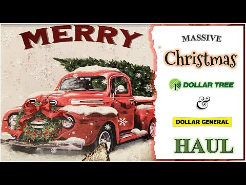 🎄ALL NEW🎄 DOLLAR TREE CHRISTMAS HAUL🎄NEW DOLLAR TREE FINDS🎄CHRISTMAS & FALL DOLLAR GENERAL & DT 2020