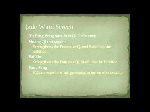 Chinese Herbal Formulas: Jade Wind Screen (Yu Ping Feng San) - Immune Booster
