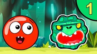 Download Несносный КРАСНЫЙ ШАР против монстров #1. Зелёные джунгли. Мультик ИГРА Red Ball на Игрули TV Mp3 and Videos