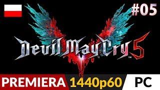 Devil May Cry 5 PL  #5 (odc.5)  Misja 4 (+Sekret #3) - W skórze V | DMC V Gameplay po polsku