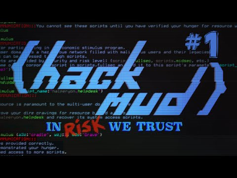 Hackmud Let's Play Part 1 - trust.sentience - 4w4k3
