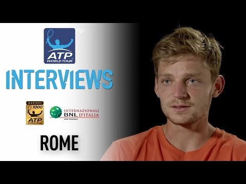 Interview: Goffin Pleased With Win Against Verdasco In Rome