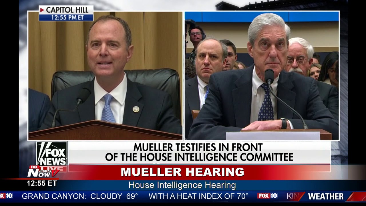 Image result for shiff's performance at Mueller hearing video