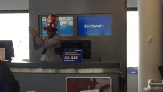Southwest Airlines Does It Again!! (2015 Boarding
