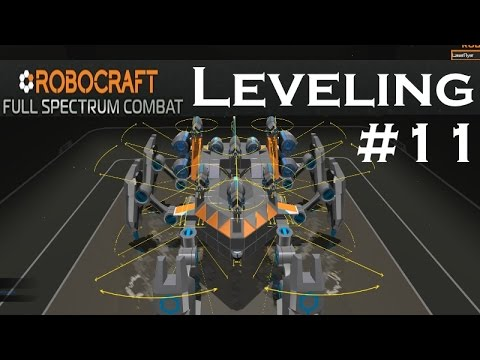 Robocraft Leveling | Part 11 | SMG Walker Flyer!