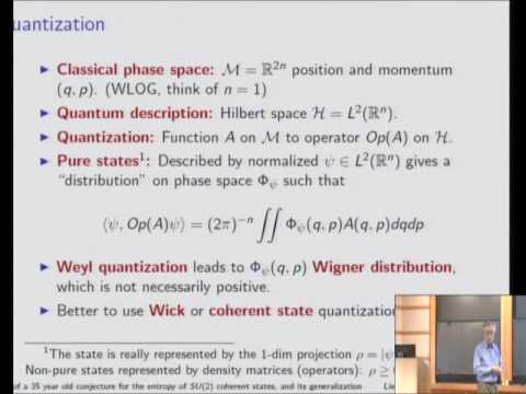 Proof of a 35 Year Old Conjecture for Entropy of Coherent States and Generalization - Elliot Lieb