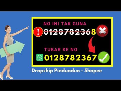 Dropship 2020 Pinduoduo Shopee - Personal Coaching