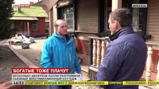 Стая колли разгромила элитный коттедж в Иркутске