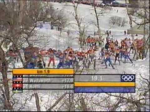 Olympics 2002, Salt lake city - Men's 30 km (1 of 4)