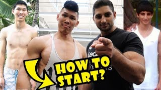 GAIN MUSCLE + LOSE WEIGHT — How to Start? || Life After College: Ep. 548 thumbnail