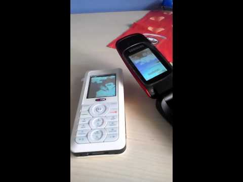 Sagem vs. Samsung incoming call (my700X vs. E1310B)