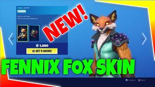 Fortnite Shop Item Right Now Today *NEW * FENNIX FOX SKIN New Item Shop 🦊 🦊 🦊