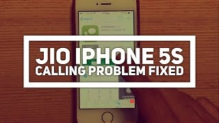 jio4gvoice app   how to fix reliance jio iphone 5s calling problem   iphone 5   technotalk in hindi