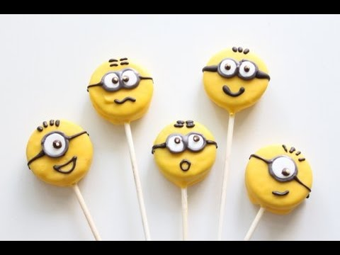Minion Cake Pop Ideas