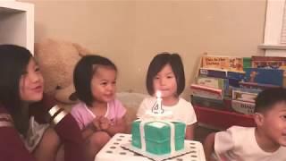 HAPPY 4TH BIRTHDAY, SOPHIA ISABELLA ♥️