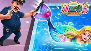 РУСАЛКА В МИРЕ ЛЮДЕЙ СЕРИЯ 6 Русалочку поймал полицейский? Самая неожиданная серия Mermaid Secret #6
