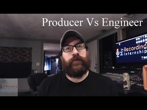 Producer And An Audio Engineer: What's The Difference?