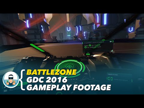 Battlezone - GDC 2016 Gameplay Footage | PlayStation VR