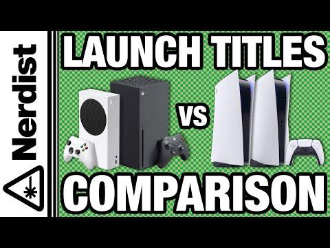 Xbox Series X/S vs. PS5 Launch Titles (Nerdist News w/ Dan Casey)